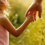 Holding Hands with a child - Give in honor of someone