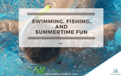 Swimming, Fishing and Summertime Fun for the Kids!