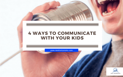 4 Ways to Communicate with Your Kids
