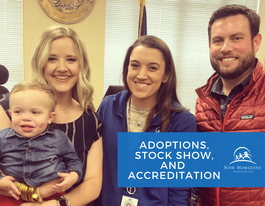 ADOPTIONS, STOCK SHOW, AND ACCREDITATION