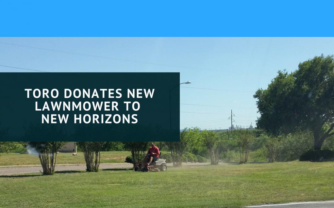 Toro Donates New Mower to Audrey Grace House