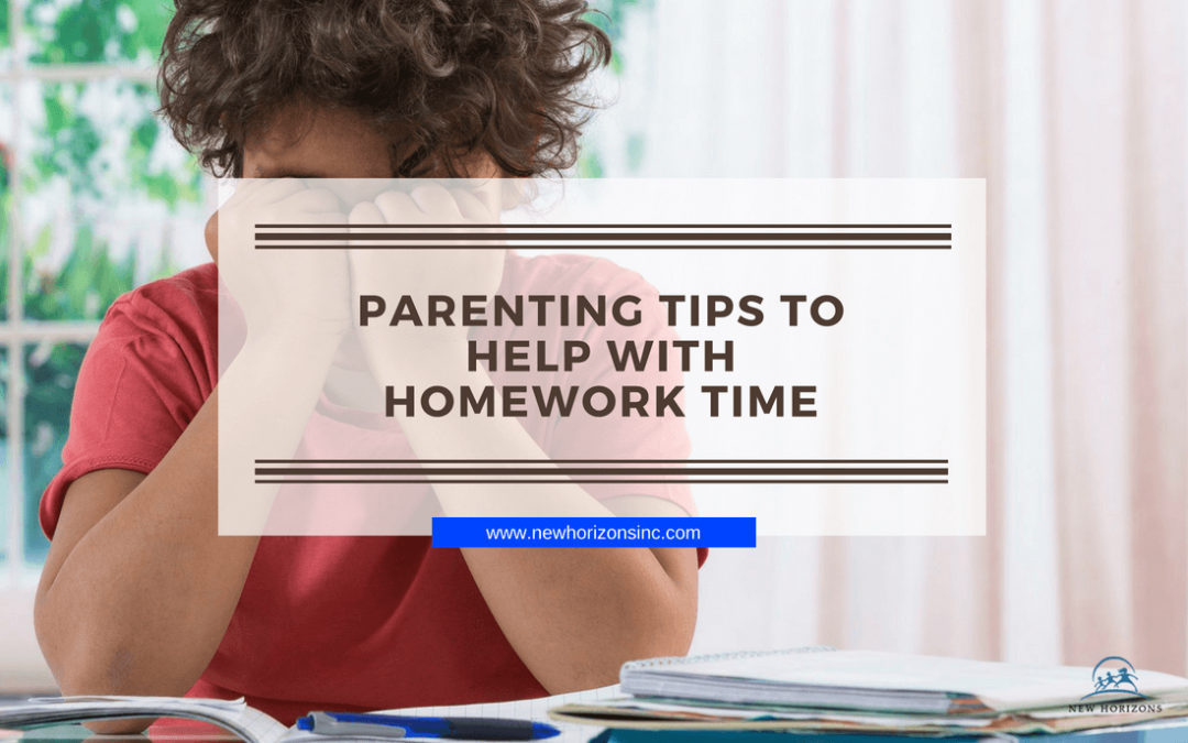 Parenting Tips to Help with Homework Time