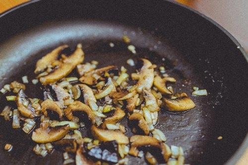 Leftover Mushrooms